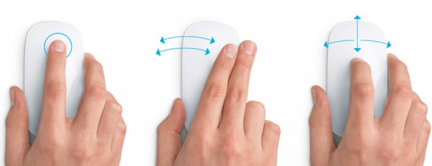 apple magic mouse Apple announces the touch sensitive Magic Mouse   works wirelessly