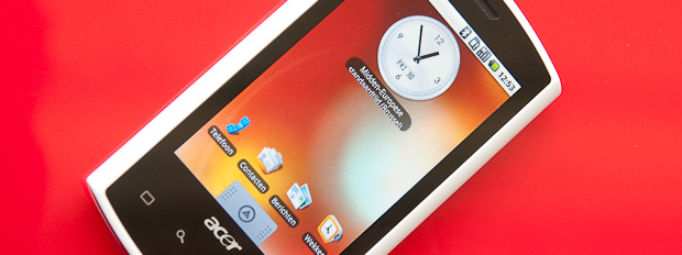 acer liquid live Acer Liquid gets its first hands on